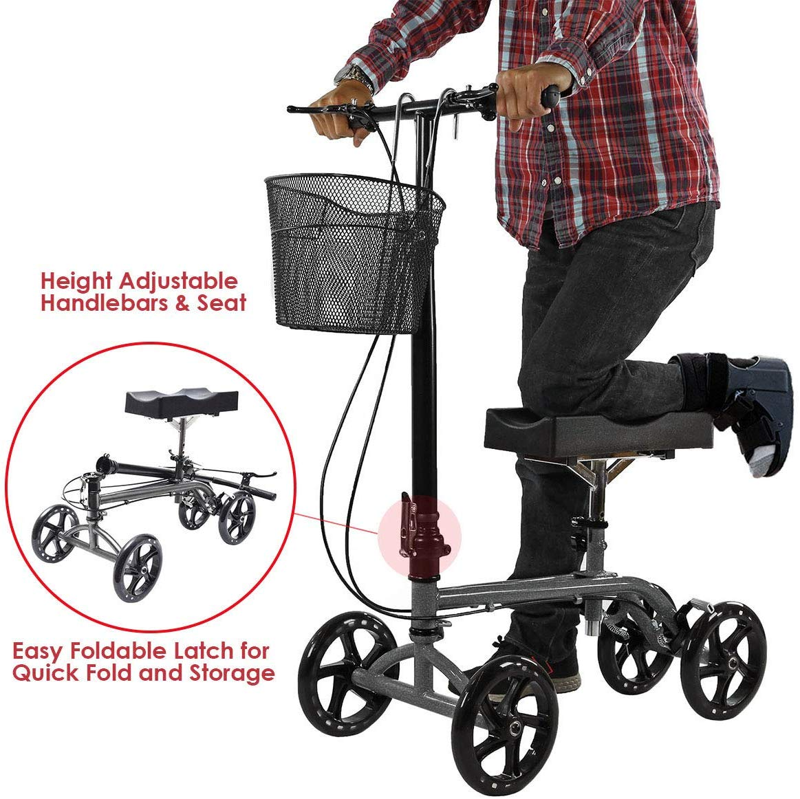 Rent Knee walker in San Diego. Knee Scooter rentals for your broken foot.
