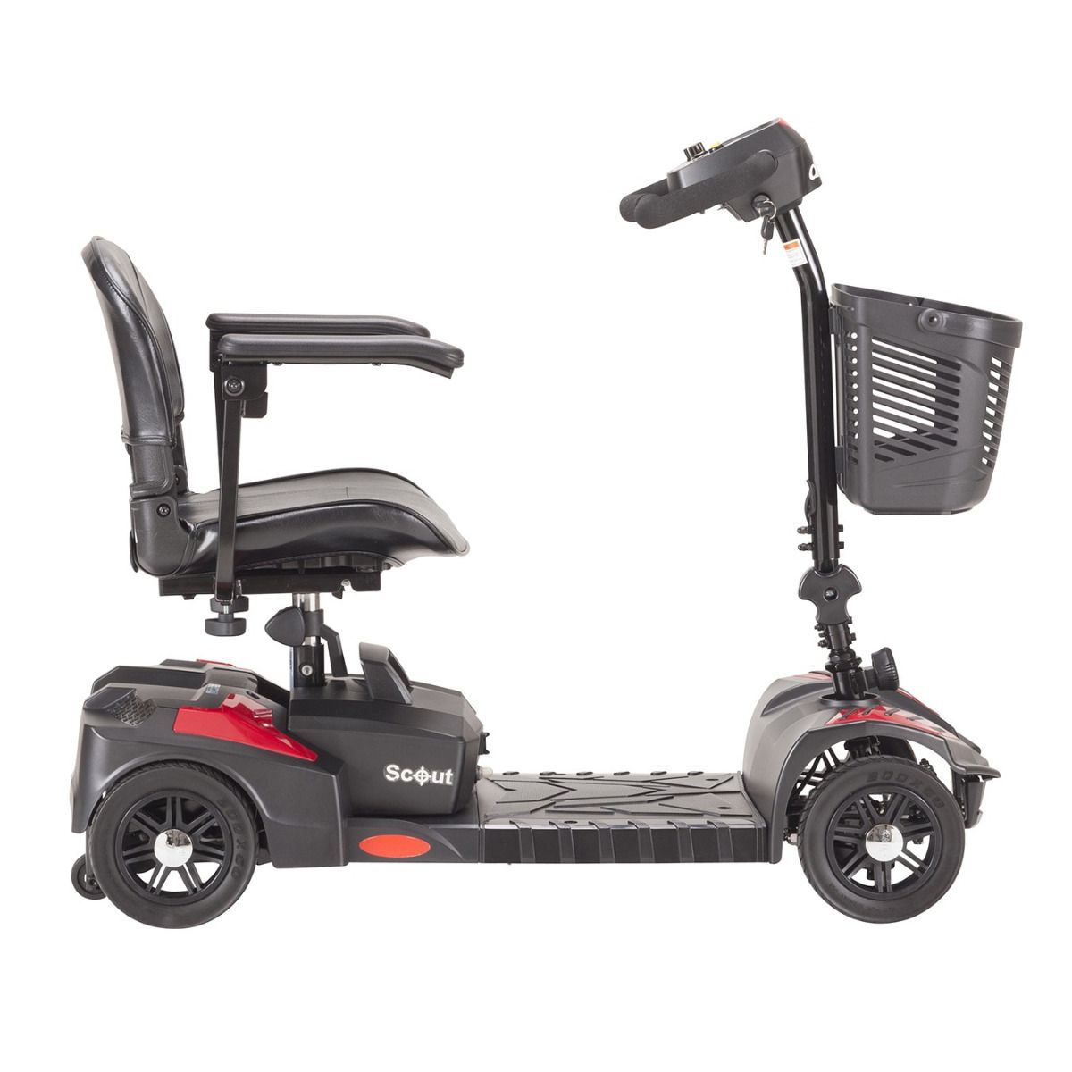 Drive Medical Spitfire Scout 4-Wheel Mobility Scooter