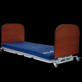 Awesome Med Mizer Allcare Floor Level Low Bed Short Links Chair Design For Home Short Linksinfo