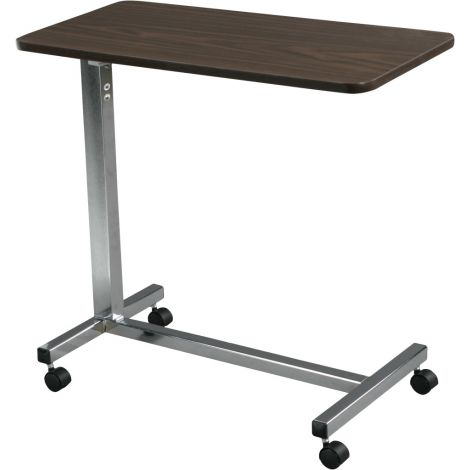 Drive Medical Non-Tilt Over Bed Table - 15 x 30 Inch Top 13003