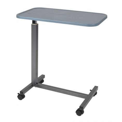 Drive Medical Overbed Table, Plastic Top 13069