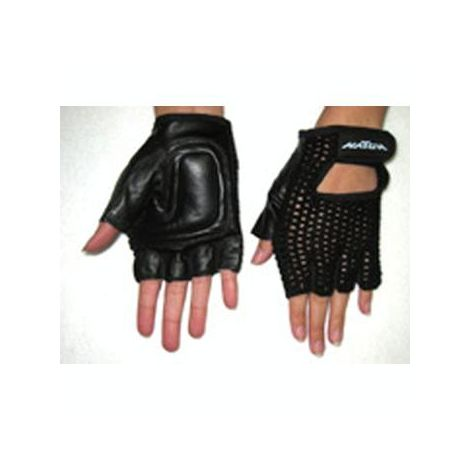 New Solutions Breathable Mesh and Leather Gloves