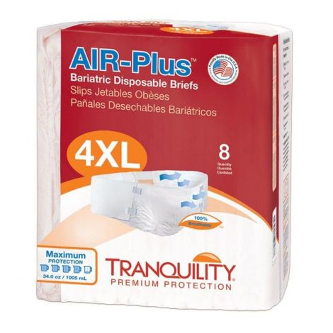 Tranquility Air Plus Bariatric Brief 4X-Large Maximum Absorbency 2195