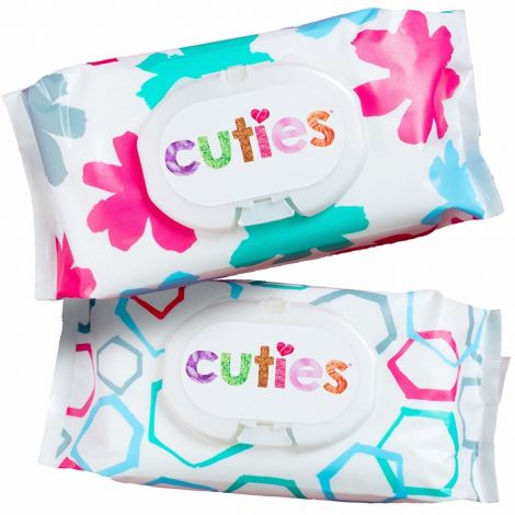 First Quality Cuties Complete Care Sensitive Baby Wipes CCC-W01