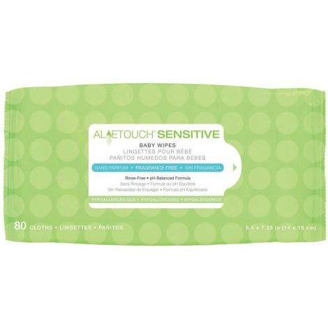Medline Aloetouch Sensitive Baby Wipes MSC263153H