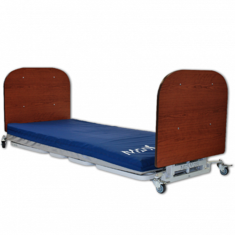 Med-Mizer AllCare Floor Level Low Bed