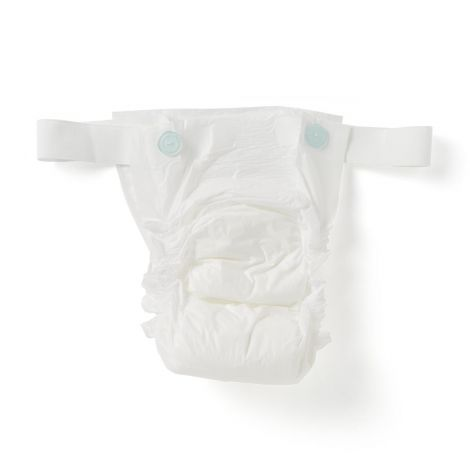 Medline Protection Plus Non-Adjustable Belted Undergarments Moderate Absorbency
