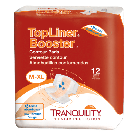 Tranquility TopLiner Booster Pads - Light Absorbency 2060