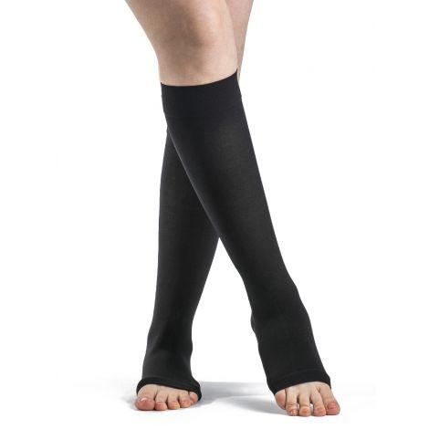 Sigvaris Women's Essential Opaque Calf Open-Toe 862COW