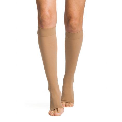 Sigvaris Women's Essential Opaque Calf Open-Toe Plus 862COLW