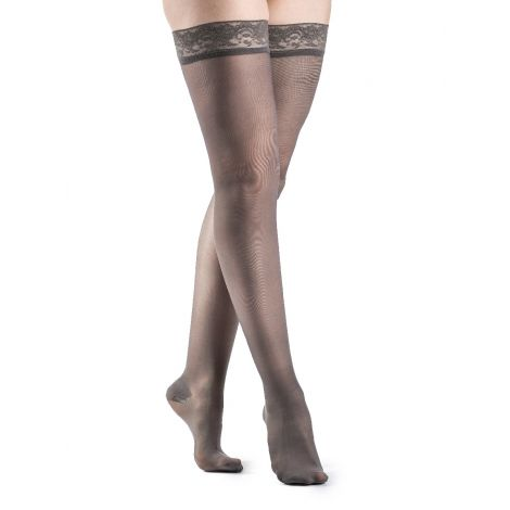 Sigvaris Women's Sheer Fashion Thigh-High 120N