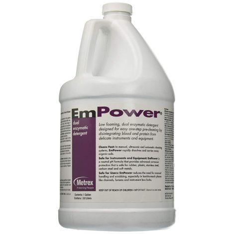 Metrex EmPower Dual Enzymatic Instrument Detergent Disinfectant 10-4100