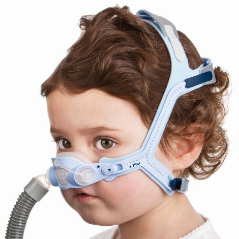 ResMed Pixi Pediatric CPAP Mask with Headgear 61030