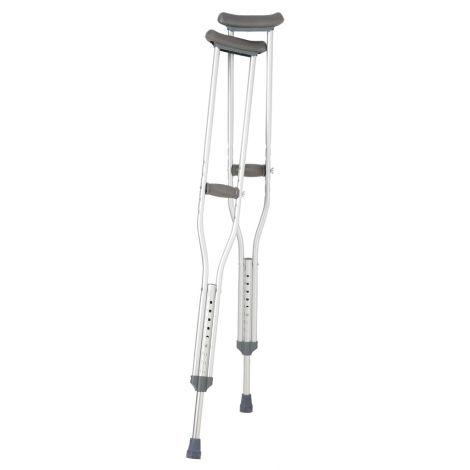 Breg Aluminum Push Button Crutches 100310-000