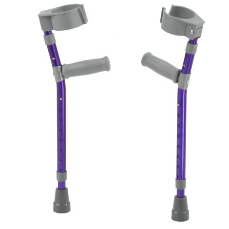 Drive Medical Pediatric Forearm Crutches FC100-2G