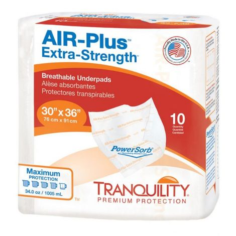Tranquility AIR-Plus Extra Strength Breathable Disposable Underpad 2711