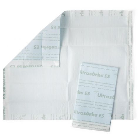 Medline Ultrasorbs ES Drypad and Drawpad - Maximum Absorbency USAP2436ES