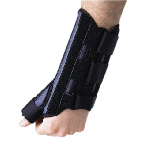 Breg Wrist Brace Cock-up with Thumb Spica 10292