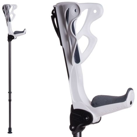 JV7 Brands ErgoDynamic Forearm Crutches