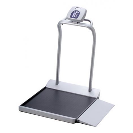 HOM2500_Graham-Field Digital Wheelchair Scale With Ramp
