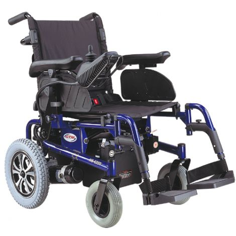 HS-6200_CTM HS-6200 Folding Power Chair with Drop-In Battery