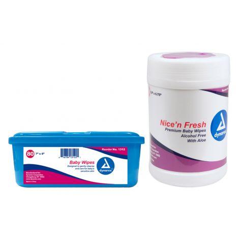 Dynarex Nice'n Fresh Premium Baby Wipes