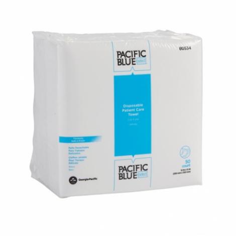 Georgia Pacific Blue Select Disposable Patient Care Towels