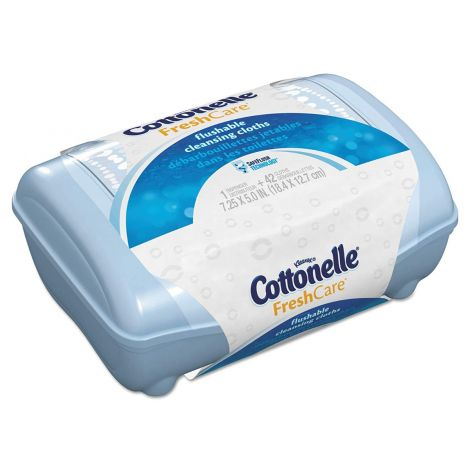Kimberly Clark Cottonelle FreshCare Flushable Cleansing Cloths