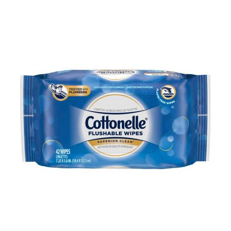 Kimberly Clark Cottonelle FreshCare Flushable Cleansing Cloths - Refill