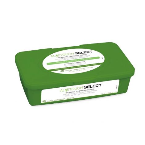 Medline AloeTouch Select Premium Spunlace Personal Cleansing Cloths - Scented