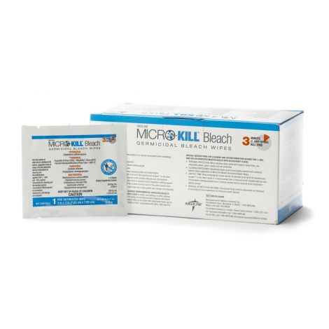 Medline Micro-Kill Bleach Germicidal Bleach Wipes