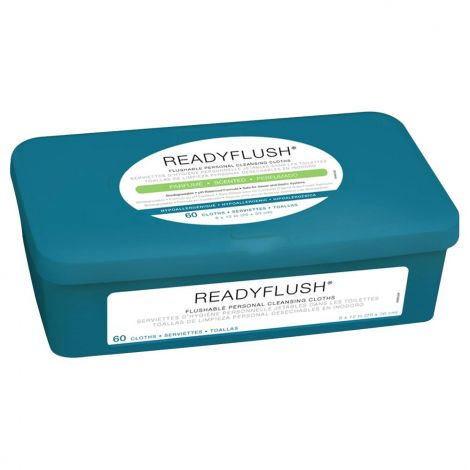 Medline Readyflush Biodegradable Flushable Wipes, Scented MSC263810H