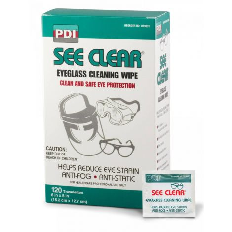 Professional Disposables Eye Glass Wipes D19831