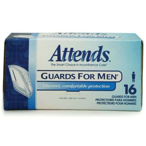 Attends Guards For Men Insert Pad Light Absorbency MG0400