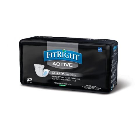 Medline FitRight Active Male Guards Insert Pads MSCMG02Z