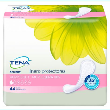 TENA Serenity Very Light Liner Pads Long