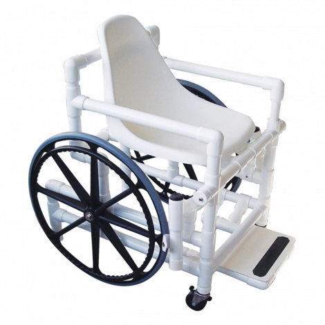 Aqua Creek Poseidon with Solid Seat Manual Wheelchair