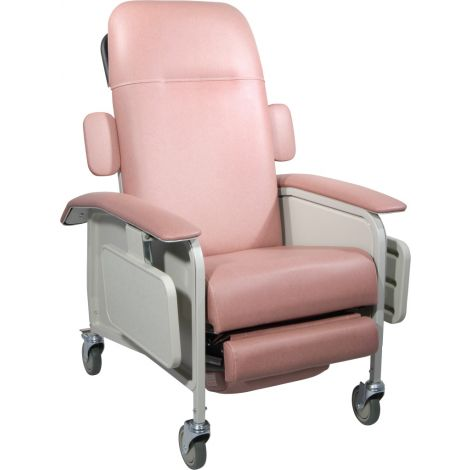 Drive Medical 4 Position Clinical Care Recliner Manual Wheelchair