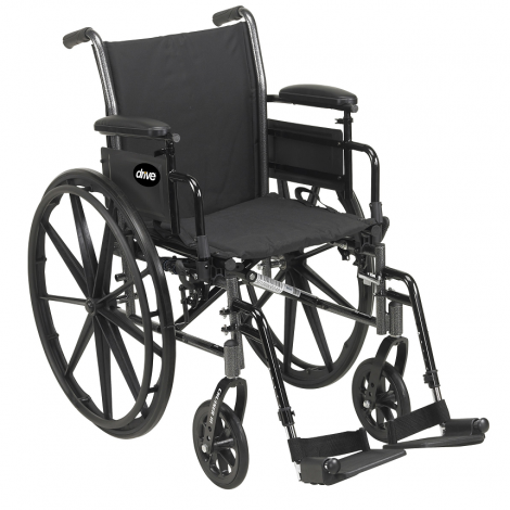 Drive Medical Cruiser III Quick Ship Manual Wheelchair