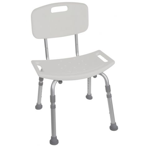 Drive Medical Deluxe Aluminum Shower Chair 12202KD-4