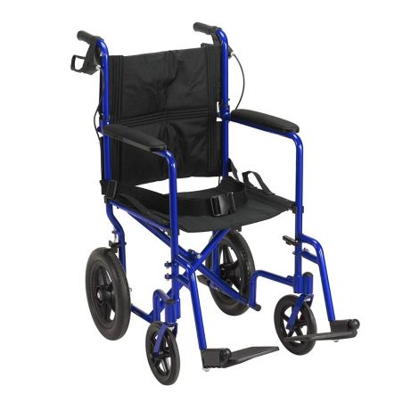 "Drive Medical Lightweight Expedition w/12"" Rear Wheels Manual Wheelchair"