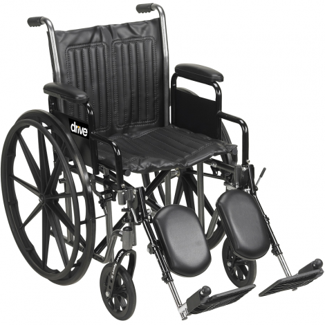 Drive Medical Silver Sport 2 Manual Wheelchair