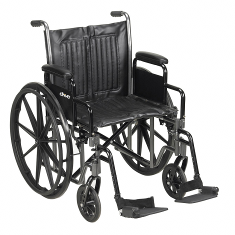 Drive Medical Silver Sport 2-350 Manual Wheelchair