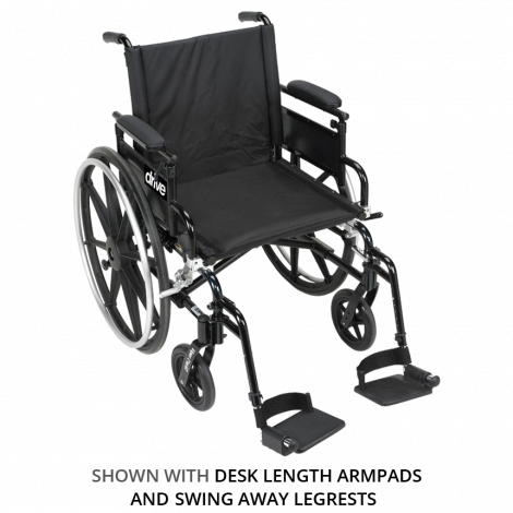 Drive Medical Viper Plus GT Manual Wheelchair