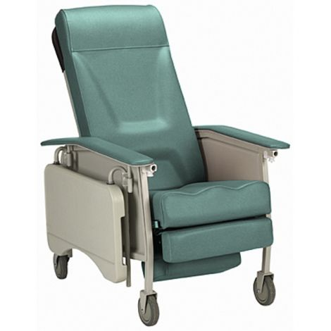 Invacare 3-way Recliner-Deluxe Manual Wheelchair