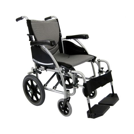 Karman Healthcare Lightweight S-Ergo 115 Transport Manual Wheelchair
