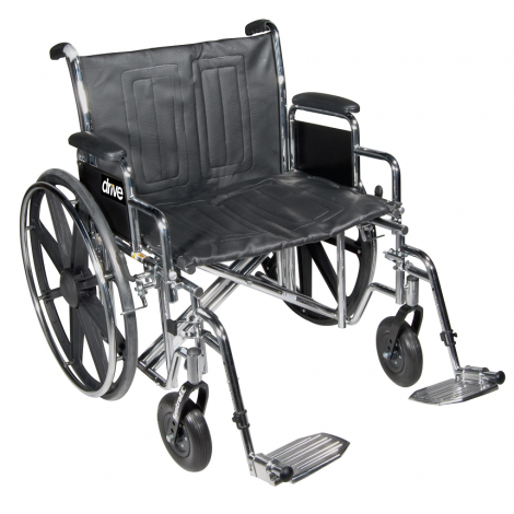 Drive Medical Sentra HD 450 Manual Wheelchair