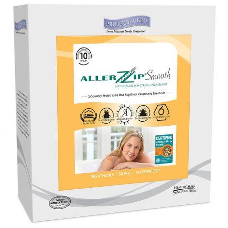 Protect-A-Bed AllerZip Smooth Mattress Encasement BOM1213