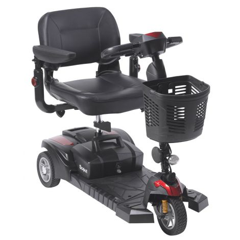 SFDST3 Drive Medical Spitfire DST 3-Wheel Mobility Scooter