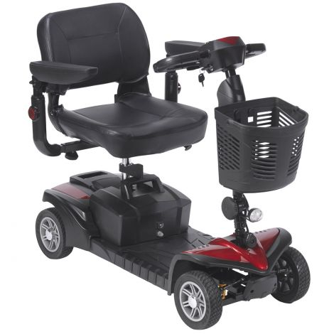 SFDST4 Drive Medical Spitfire DST 4-Wheel Mobility Scooter